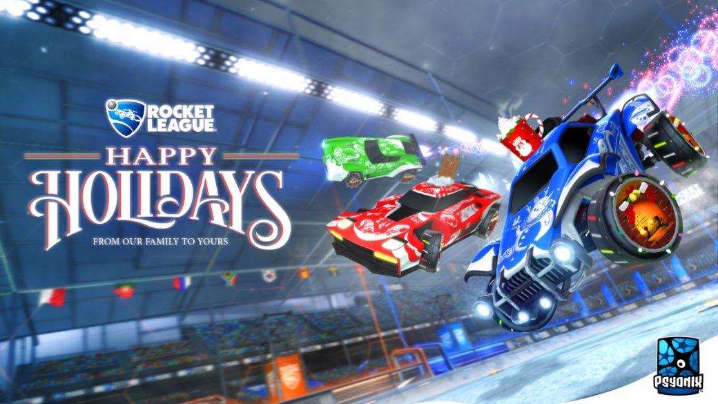 Разработчики поздравляют игроков с Рождеством. Подборка праздничных открыток   Канобу - Изображение 12509