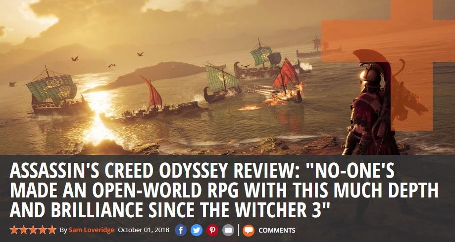 Мнение. Почему все, кто называет Assassin's Creed: Odyssey ролевой игрой, ошибаются | Канобу - Изображение 5