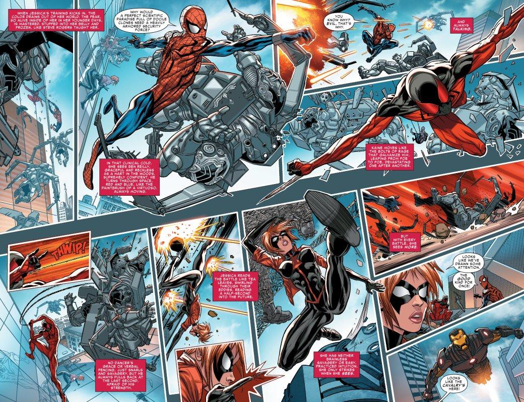 Что такое Spider-Verse? Кроссовер, где Человек-паук встретил безумные версии себя издругих миров | Канобу - Изображение 8