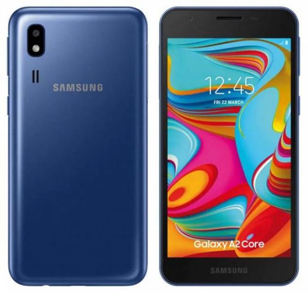 Анонс Samsung Galaxy A2Core: реальный конкурент бюджетным китайским смартфонам   Канобу - Изображение 0