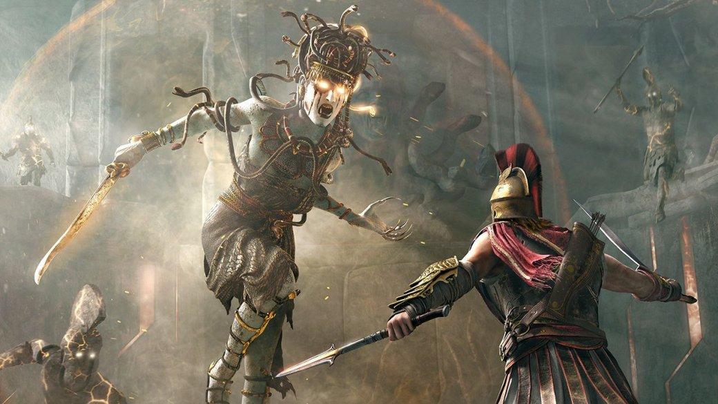 Мифы Древней Греции в Assassin's Creed: Odyssey — Медуза Горгона, Минотавр, а также Зевс и Посейдон | Канобу - Изображение 5