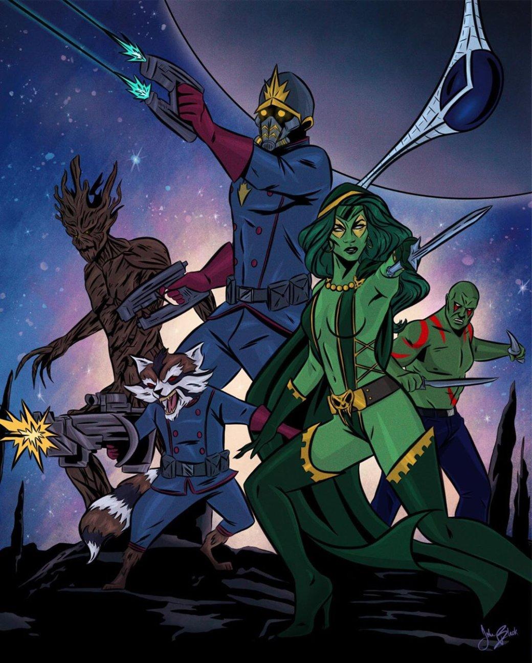 Фанат Marvel рисует знаменитые сцены из фильмов в стилистике классических комиксов  | Канобу - Изображение 9