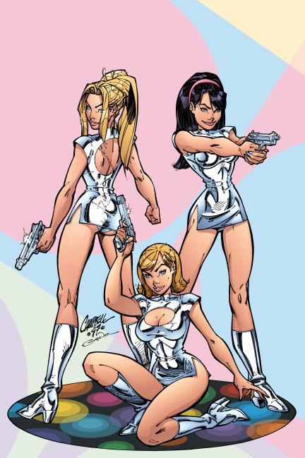 Девочки-припевочки, или весеннее обострение в комиксах   Канобу - Изображение 3