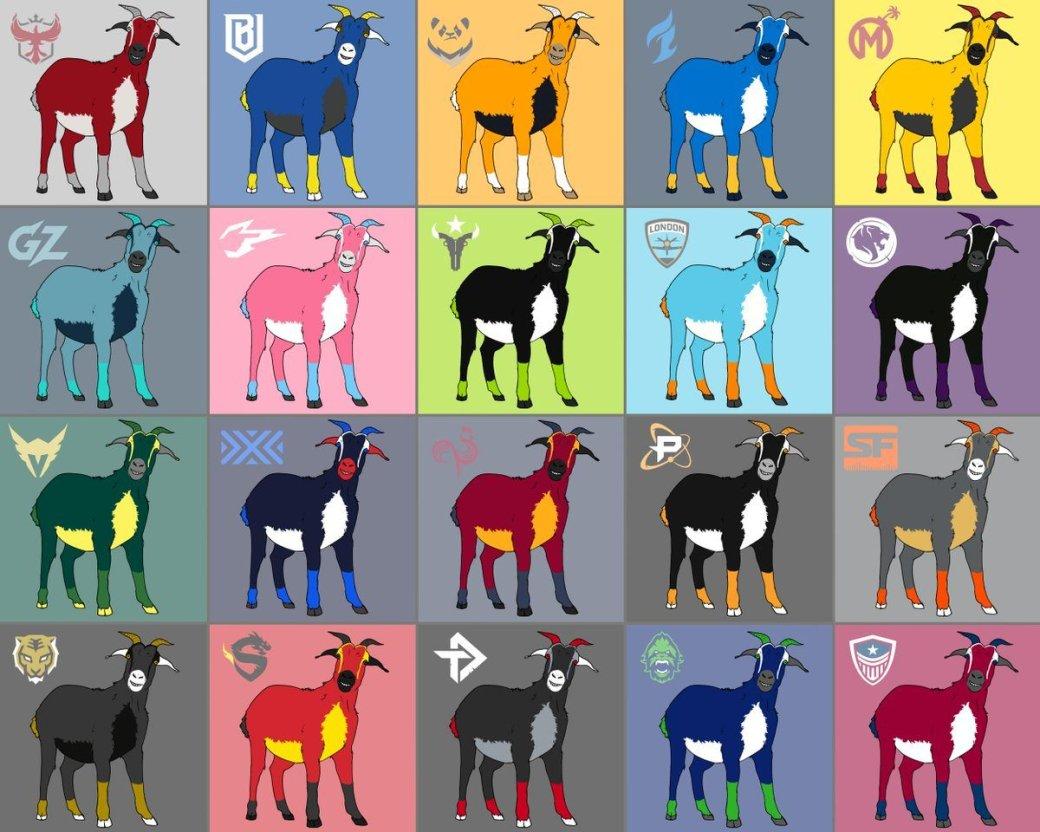 Пользователь «затролил» Overwatch League картинками коз | Канобу - Изображение 1635