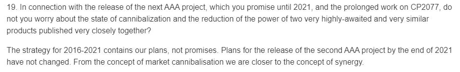 CDProjekt RED выпустит к2021 году неодну, адве крупныеRPG? | Канобу - Изображение 3
