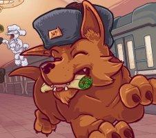 Суть. Russian Subway Dogs — игра, где псы ловят на лету жареные пельмени
