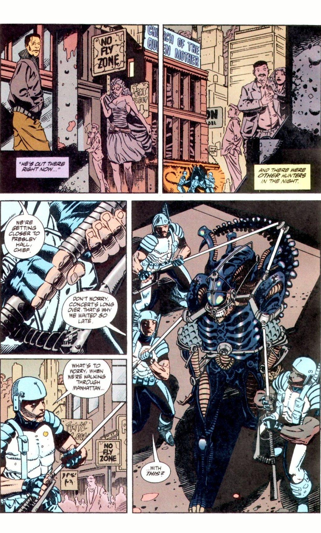 Жуткие комиксы про Чужих, откоторых кровь стынет вжилах   Канобу - Изображение 24