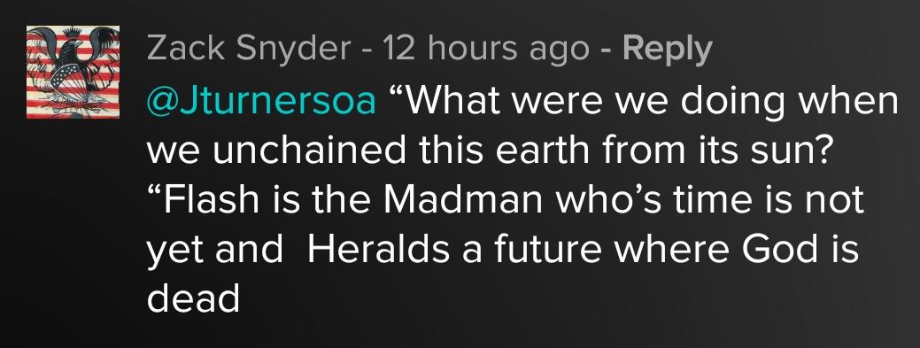 Зак Снайдер подтвердил теорию фанатов насчет кошмара Темного рыцаря из«Бэтмена против Супермена». - Изображение 1
