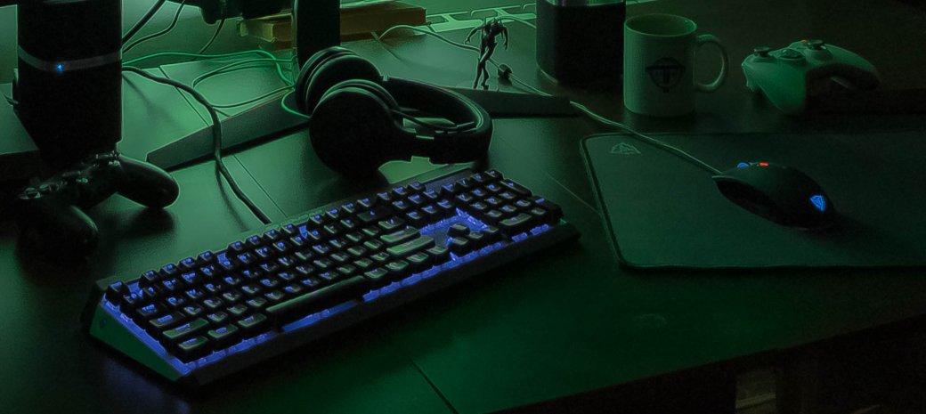 Как обустроить игровое место геймера - кресло, стол, мониторы, клавиатура, мышь, наушники для игр   Канобу - Изображение 6059