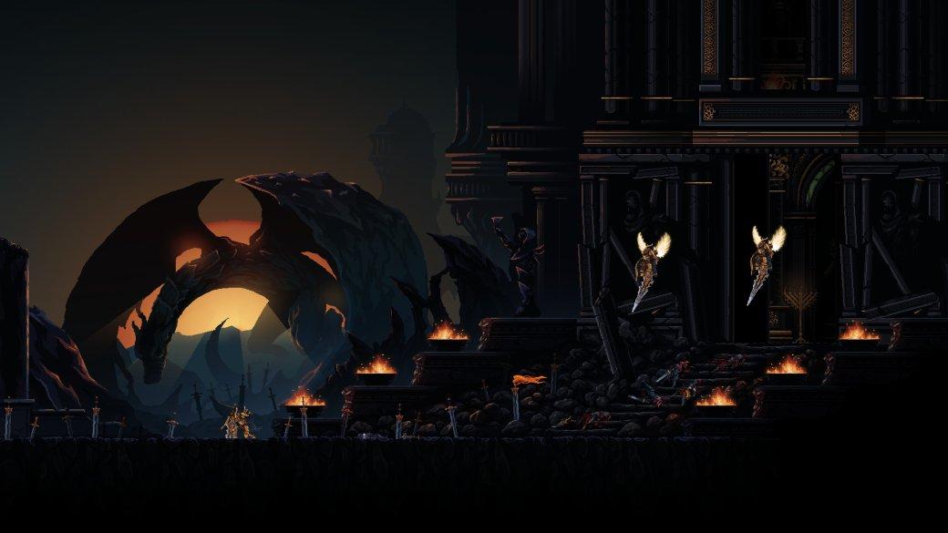 Лучшие двумерные игры, похожие на Dark Souls - топ 2D-клонов, игры типа Dark Souls на ПК, PS4, Xbox | Канобу - Изображение 908