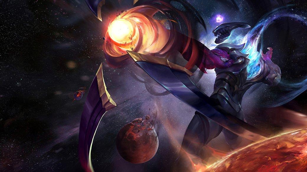 Темная Звезда. Как выглядит конец света поверсии League ofLegends | Канобу - Изображение 6