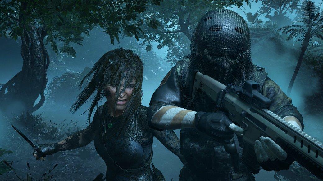 E3 2018: перепачканная Лара нановых скриншотах Shadow ofthe Tomb Raider. - Изображение 1
