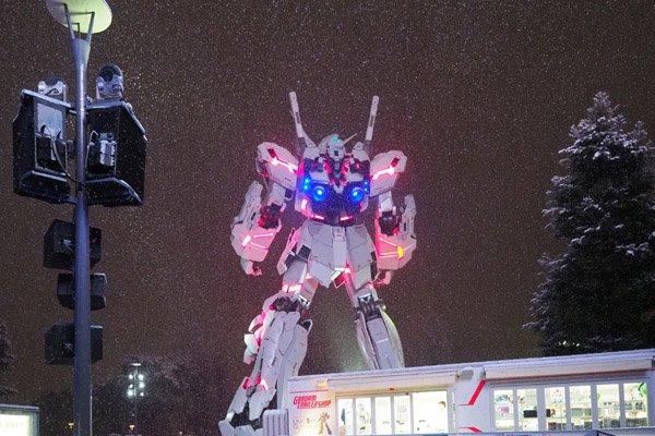 Такого выеще невидели! Японские гигантские боевые роботы вснегу. - Изображение 7